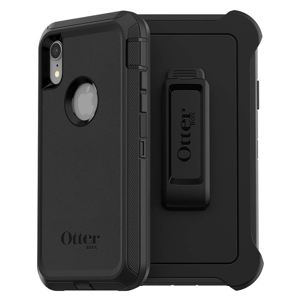 Купить Противоударный чехол Otterbox Defender Series Screenless Edition Black для iPhone XR