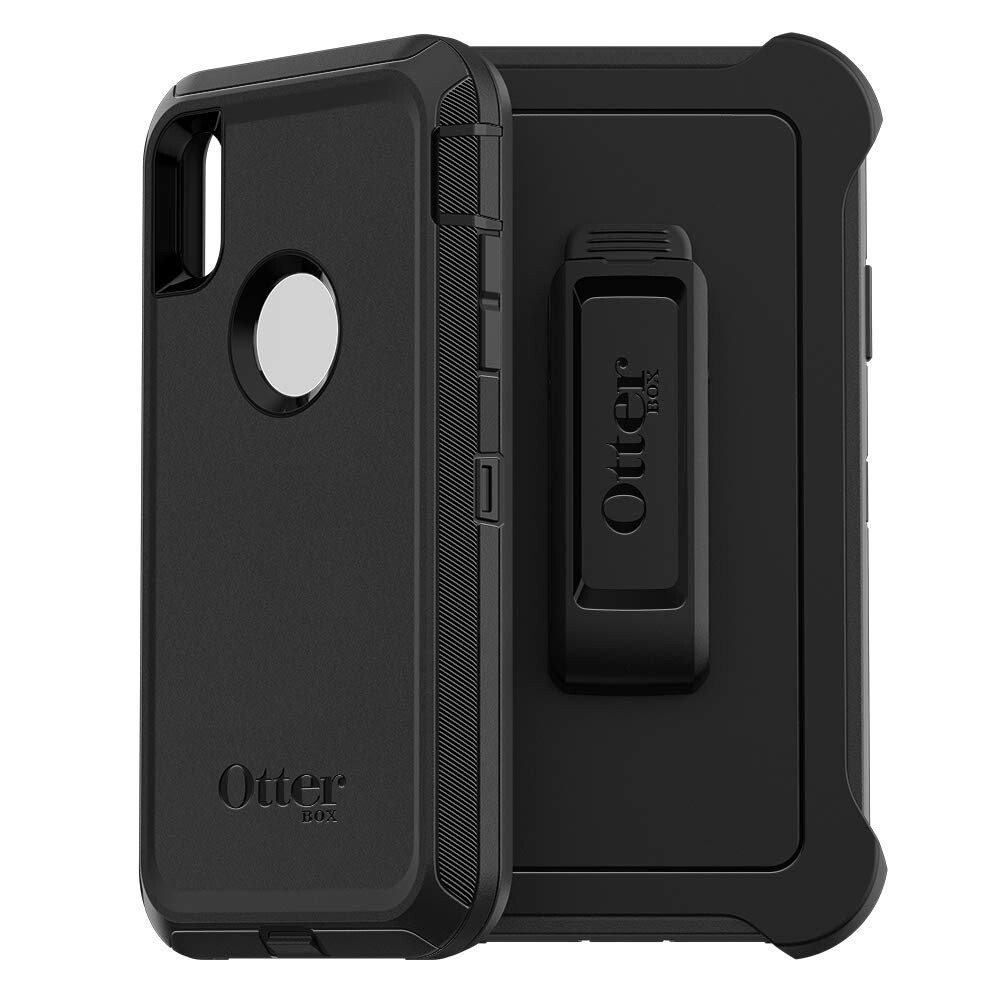 Противоударный чехол Otterbox Defender Series Screenless Edition Black для iPhone XS Max