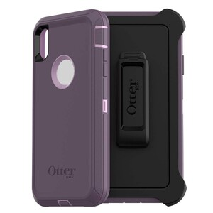 Купить Противоударный чехол Otterbox Defender Series Screenless Edition Purple Nebula для iPhone XS Max