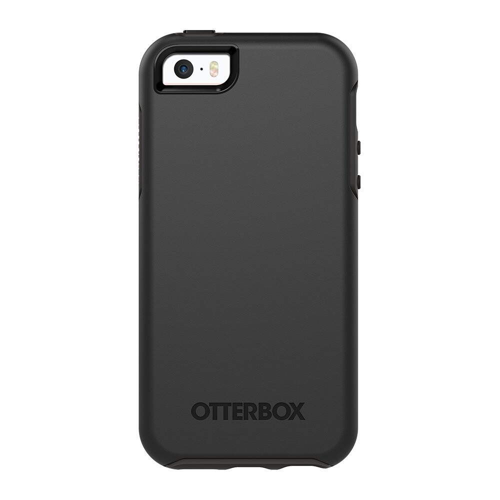 Чехол OtterBox Symmetry Series Black для iPhone 5/5S/SE