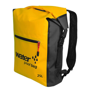 Купить Водонепроницаемый рюкзак Outdoor Waterproof Swimming Bag 25L Yellow