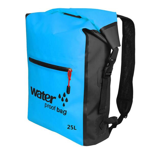 Водонепроницаемый рюкзак Outdoor Waterproof Swimming Bag 25L Blue