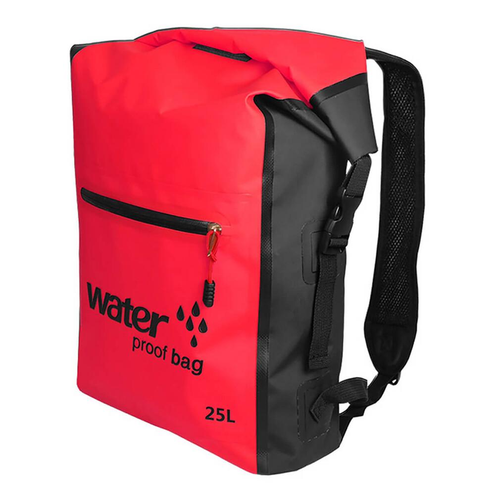 Купить Водонепроницаемый рюкзак Outdoor Waterproof Swimming Bag 25L Red
