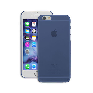 Купить Чехол Ozaki O!coat 0.4 Jelly Deep Blue для iPhone 6 Plus