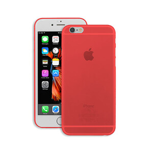 Купить Чехол Ozaki O!coat 0.4 Jelly Red для iPhone 6 Plus