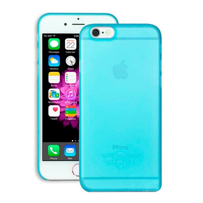 Чехол Ozaki O!coat 0.3 Jelly Blue для iPhone 6/6s