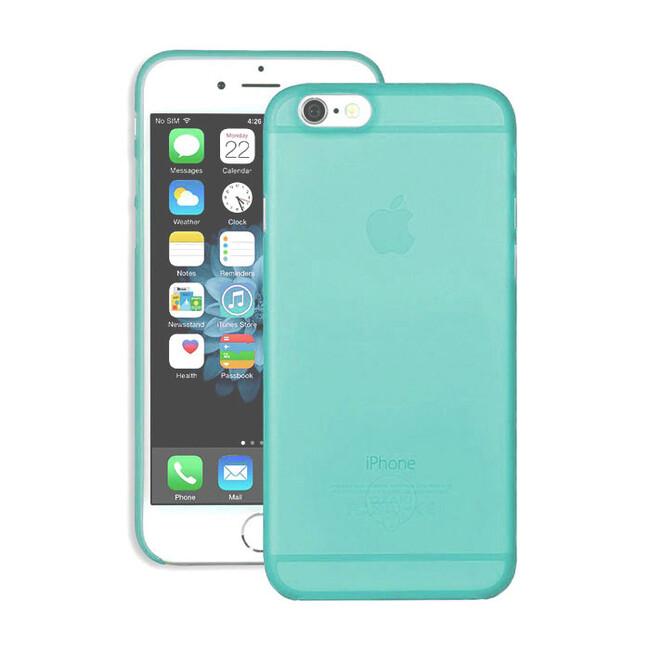 Чехол Ozaki O!coat 0.3 Jelly Cyan для iPhone 6/6s