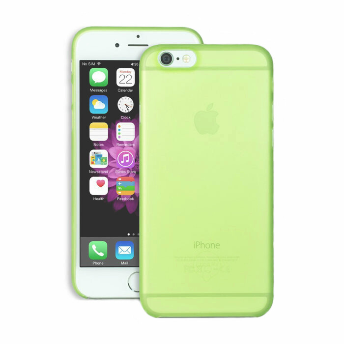 Чехол Ozaki O!coat 0.3 Jelly Green для iPhone 6/6s