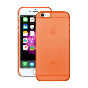 Купить Чехол Ozaki O!coat 0.3 Jelly Orange для iPhone 6/6s