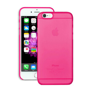 Купить Чехол Ozaki O!coat 0.3 Jelly Pink для iPhone 6/6s