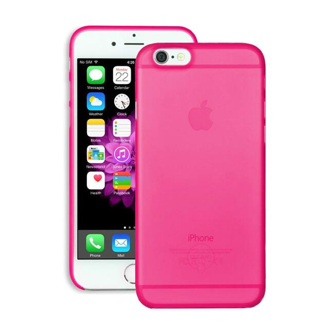 Чехол Ozaki O!coat 0.3 Jelly Pink для iPhone 6/6s