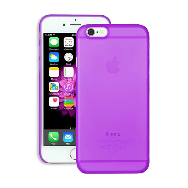 Чехол Ozaki O!coat 0.3 Jelly Purple для iPhone 6/6s