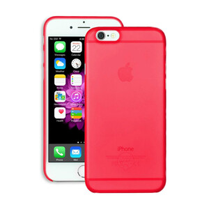 Чехол Ozaki O!coat 0.3 Jelly Red для iPhone 6/6s