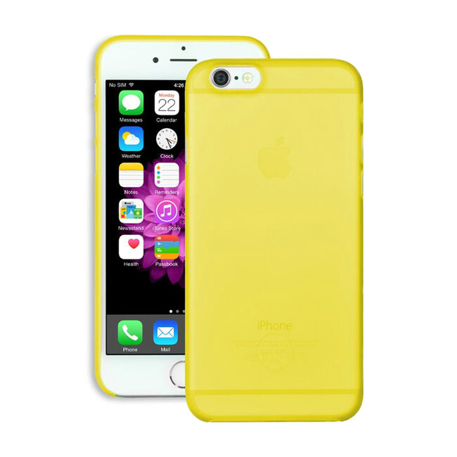 Чехол Ozaki O!coat 0.3 Jelly Yellow для iPhone 6/6s