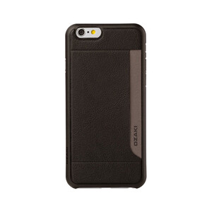 Купить Чехол Ozaki O!coat 0.3 + Pocket Black для iPhone 6/6s
