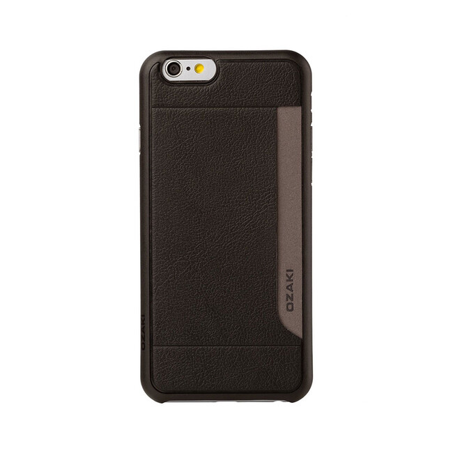 Чехол Ozaki O!coat 0.3+ Pocket Black для iPhone 6/6s