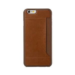 Купить Чехол Ozaki O!coat 0.3 + Pocket Brown для iPhone 6/6s
