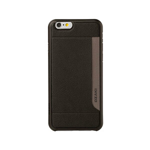 Купить Чехол Ozaki O!coat 0.4 + Pocket Black для iPhone 6/6s Plus