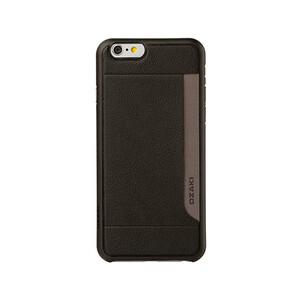 Чехол Ozaki O!coat 0.4 + Pocket Black для iPhone 6/6s Plus