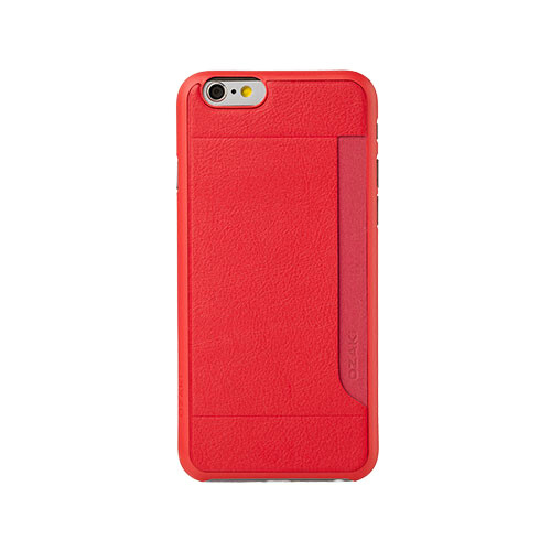 Чехол Ozaki O!coat 0.4 + Pocket Red для iPhone 6 Plus/6s Plus