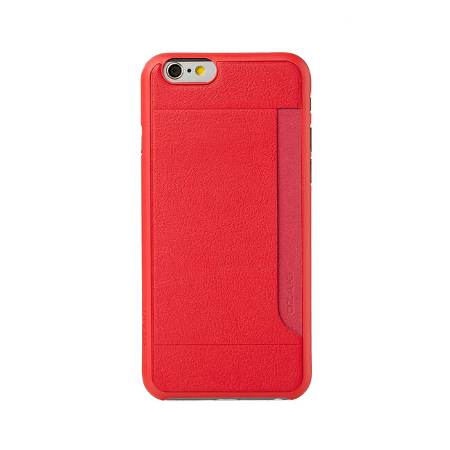 Чехол Ozaki O!coat 0.3 + Pocket Red для iPhone 6/6s