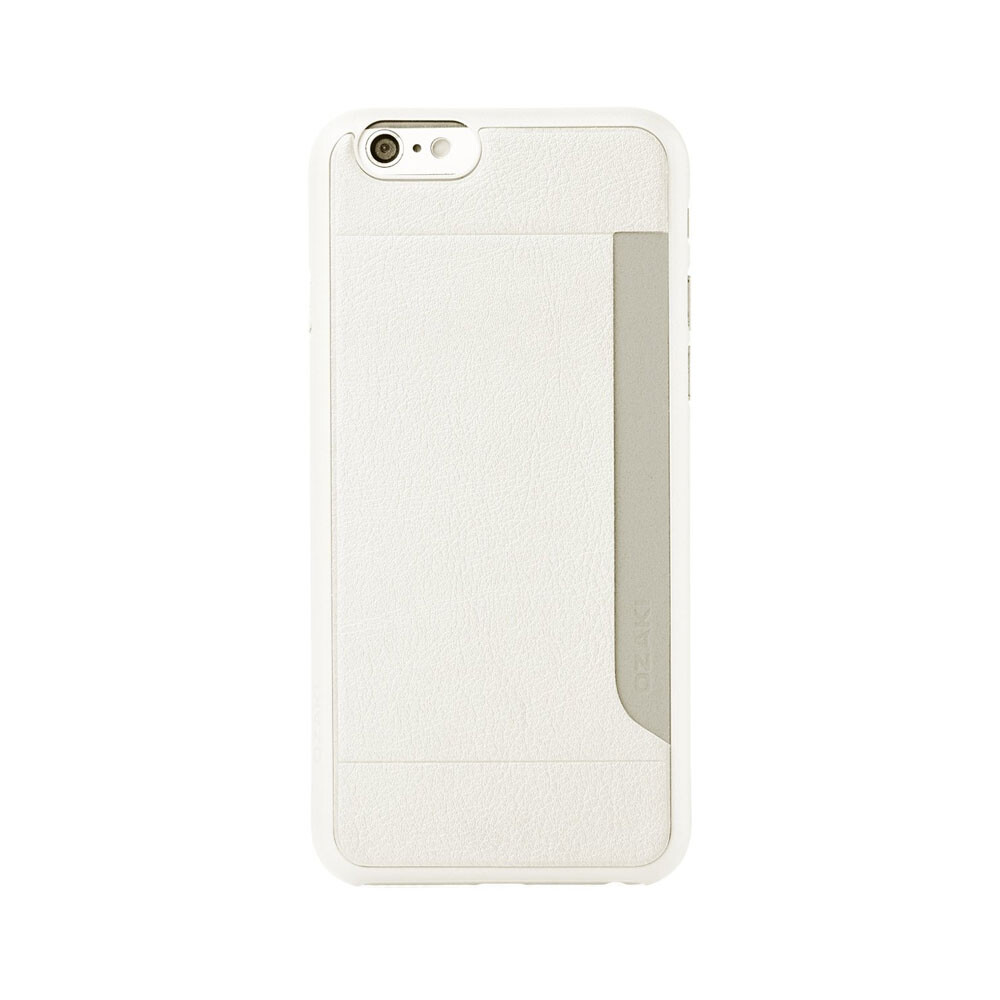 Чехол Ozaki O!coat 0.3+ Pocket White для iPhone 6/6s