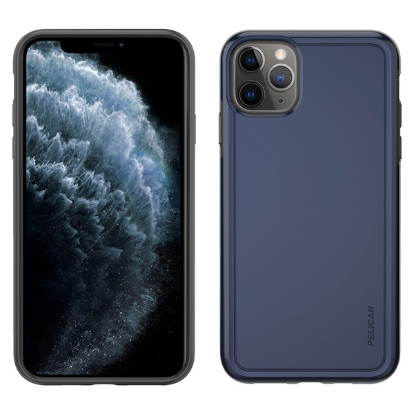 Противоударный чехол Pelican Adventurer Navy Blue   Dark Gray для iPhone 11 Pro Max