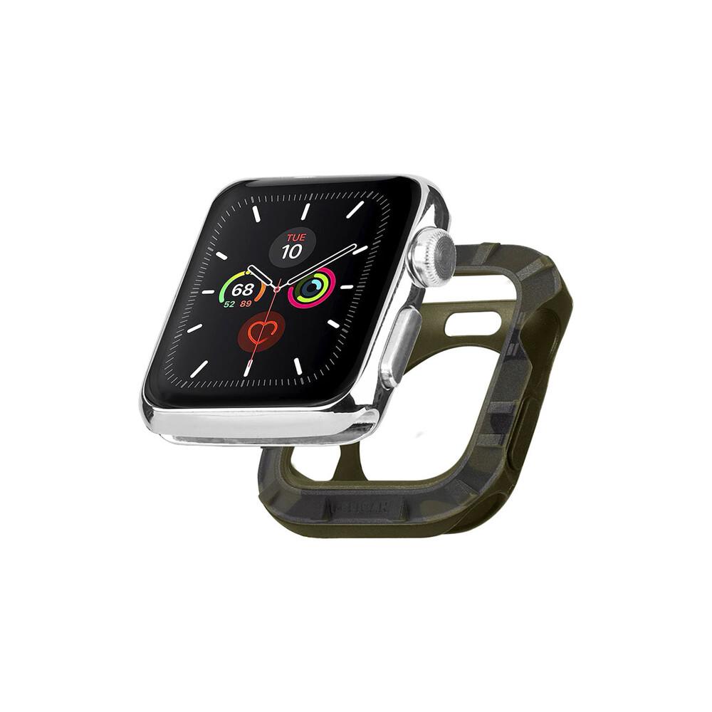 Силиконовый чехол Pelican Protector Bumper Mauve Purple для Apple Watch 44mm | 42mm