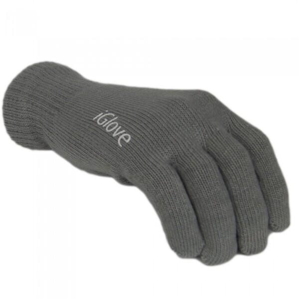 Перчатки iLoungeMax iGlove для сенсорных экранов iPhone, iPad, iPod Темно-серые