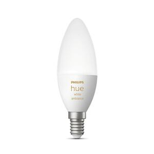 Купить Умная светодиодная лампа Philips Hue Single bulb E14 Apple HomeKit (1 шт)