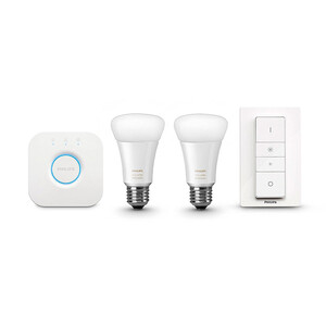 Купить Умные лампочки Philips Hue White Ambiance A19 Starter Kit для iPhone