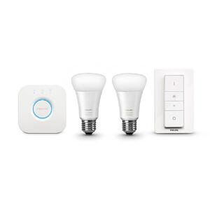 Купить Умные лампочки Philips Hue White Ambiance A19 Starter Kit для iPhone