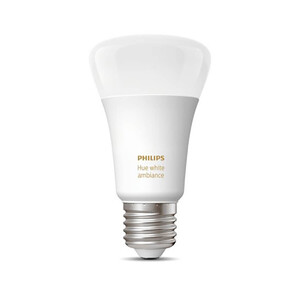 Купить Умная светодиодная лампочка Philips Hue White Ambiance E27 Apple HomeKit (1 шт.)