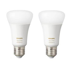 Купить Умные светодиодные лампочки Philips Hue White Ambiance E27 Apple HomeKit (2 шт.)