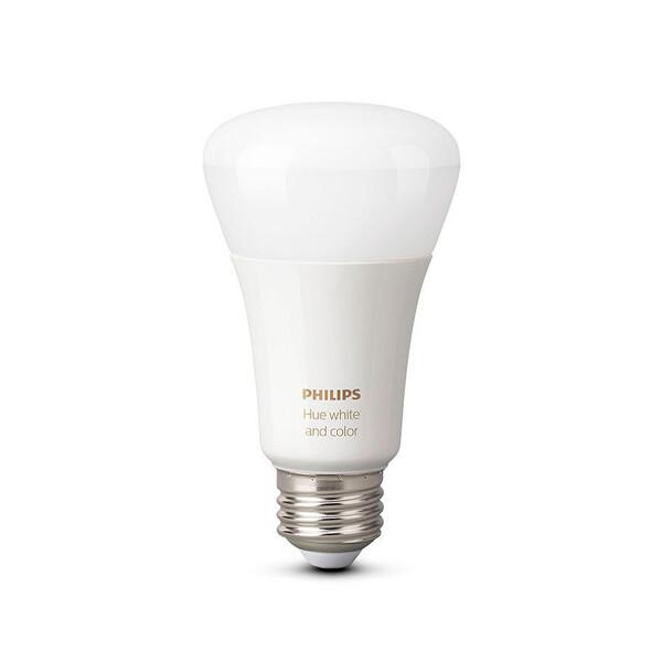 Умная лампочка Philips Hue White and Color Ambiance A19 Single Bulb для iPhone