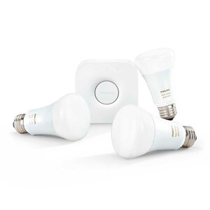 Купить Умные лампочки Philips Hue White and Color Ambiance A19 Starter Kit для iPhone