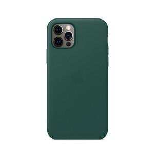 Купить Кожаный чехол iLoungeMax Genuine Leather Case MagSafe Pine Green для iPhone 12 Pro Max ОЕМ