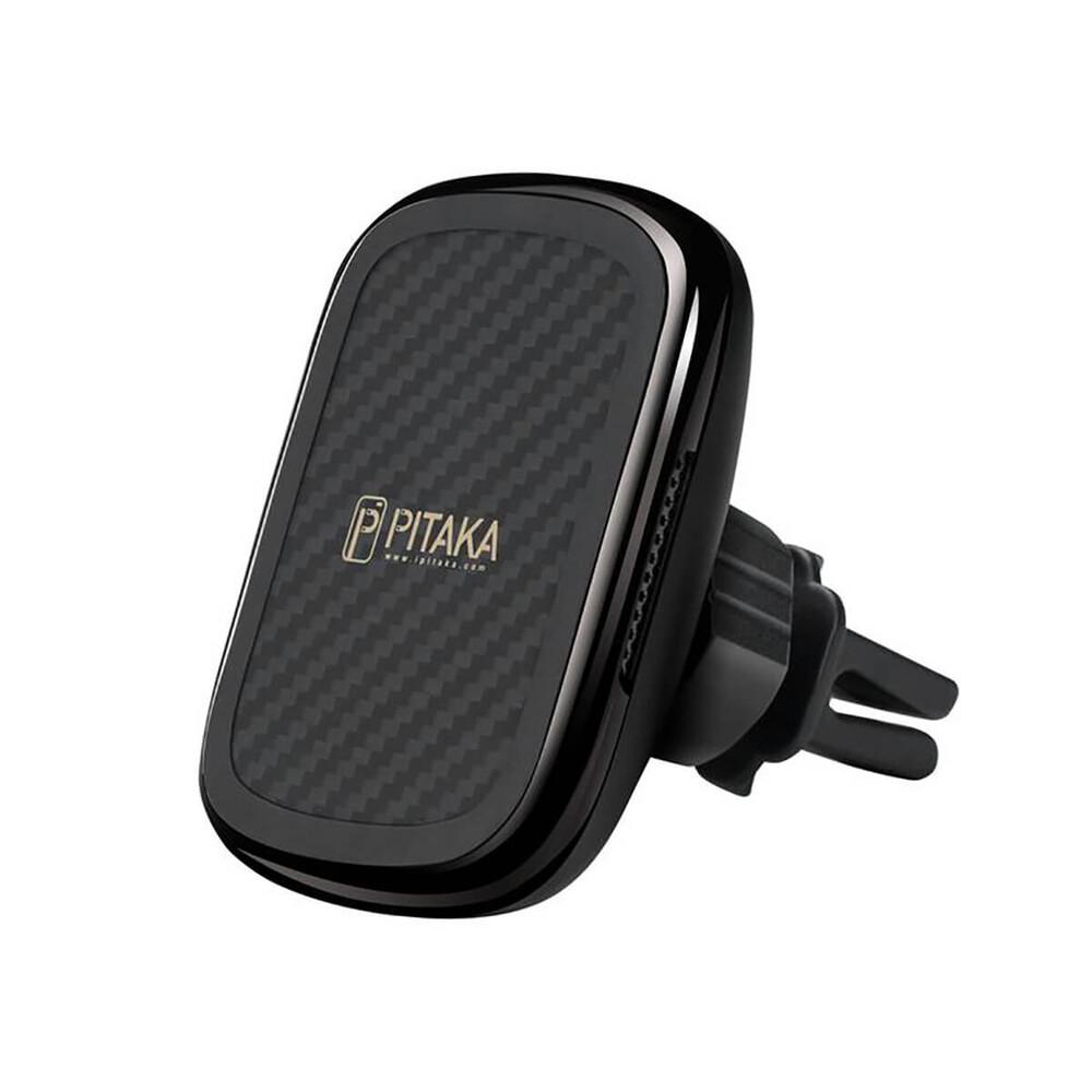 Купить Автодержатель с беспроводной зарядкой Pitaka MagEZ Mount Qi Car Vent для iPhone