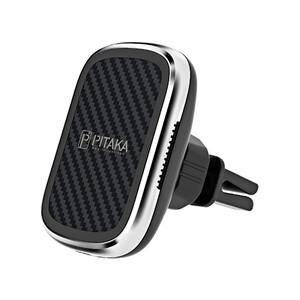 Купить Автодержатель с беспроводной зарядкой Pitaka MagMount Qi Car Vent Black