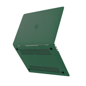 "Купить Пластиковый чехол oneLounge Soft Touch Forest Green для MacBook Air 13"" M1 | 2020 | 2019 | 2018"