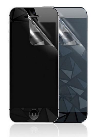 Передняя+задняя защитная пленка 3D Diamond для iPhone 5/5S/SE