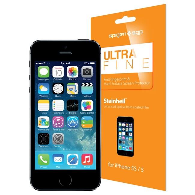 Пленка SGP Spigen Ultra Fine для iPhone 5/5C/5S