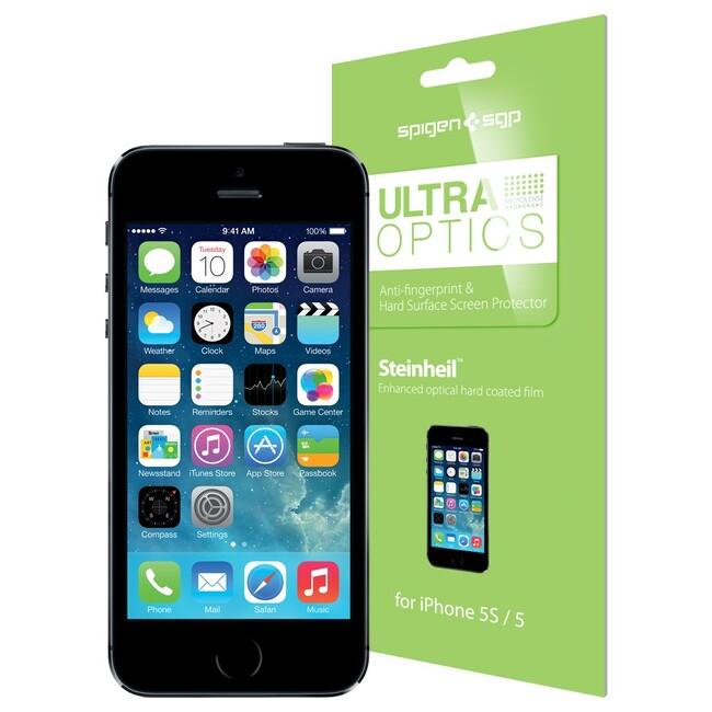 Защитная пленка SGP Ultra Optics для iPhone 5/5C/5S