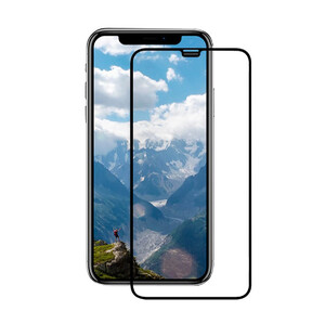 Купить Защитное стекло +NEU Chatel Full Cover Crystal Front Black для iPhone 12 mini