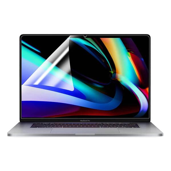 Поклейка защитной пленки на MacBook