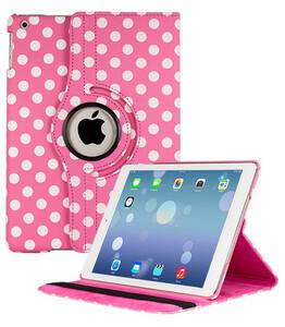 Купить Чехол 360 Polka Dots для iPad 4/3/2 Розово-белый