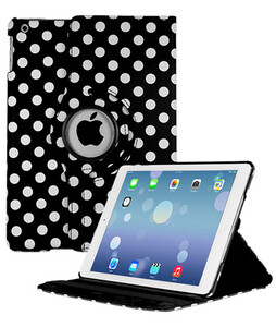 Купить Чехол 360 Polka Dots для iPad 4/3/2 Черно-белый