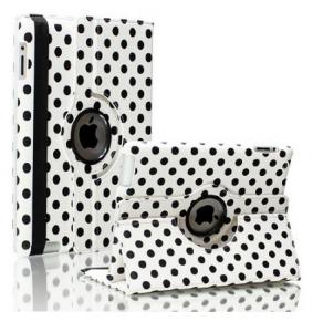 Купить Чехол 360 Polka Dots для iPad 4/3/2 Бело-черный
