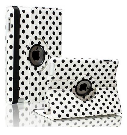 Чехол 360 Polka Dots для iPad 4/3/2/1