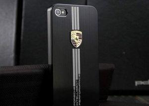 Купить Чехол Porsche black для iPhone 4/4S